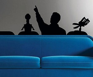 Awesome Mystery Science Theater Wall Decal