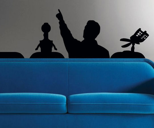 Elegant Mystery Science Theater Wall Decal