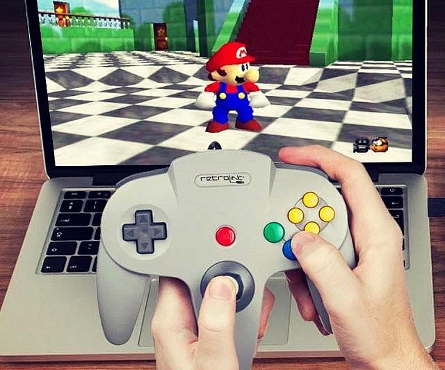 37 USB Nintendo 64 Controller