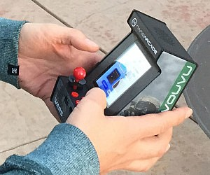 World's Smallest Arcade Gaming System