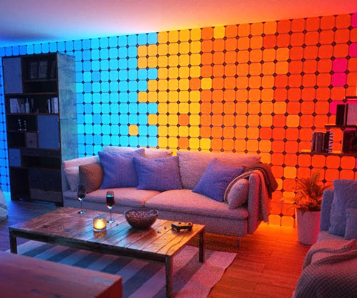 Color Changing Wall Panels