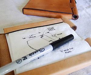Napkin Sketchbook
