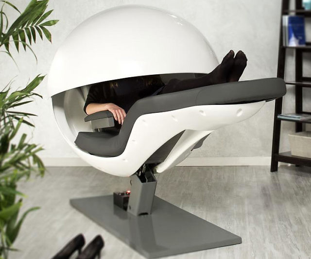 Amazing Napping Pod Chair