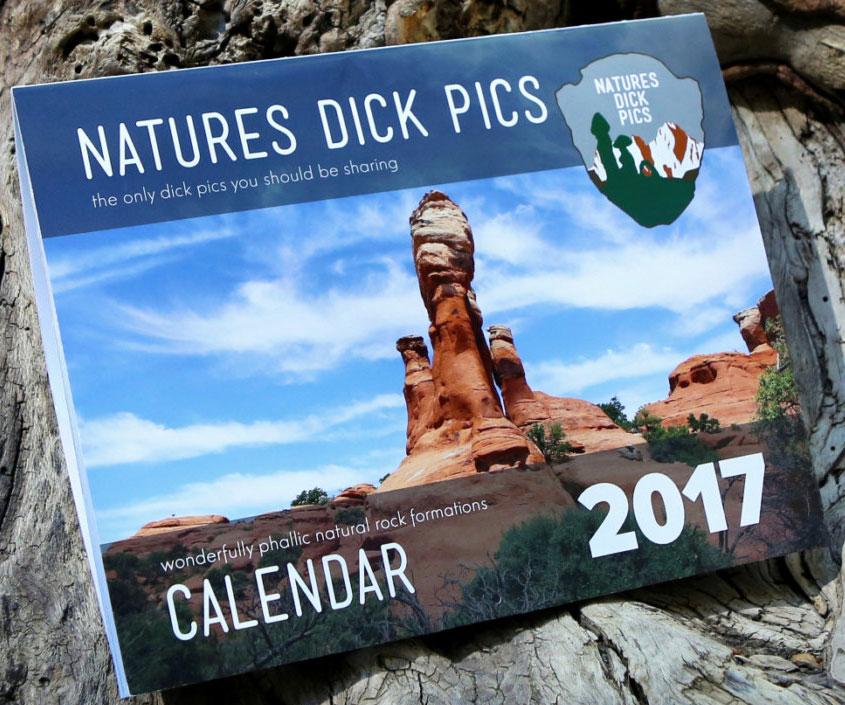 Nature's Dick Pics Calendar