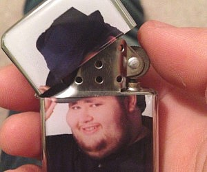 Fedora Hat Tip Lighter