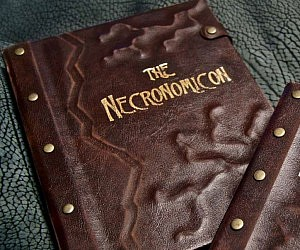 Necronomicon Tablet Cover