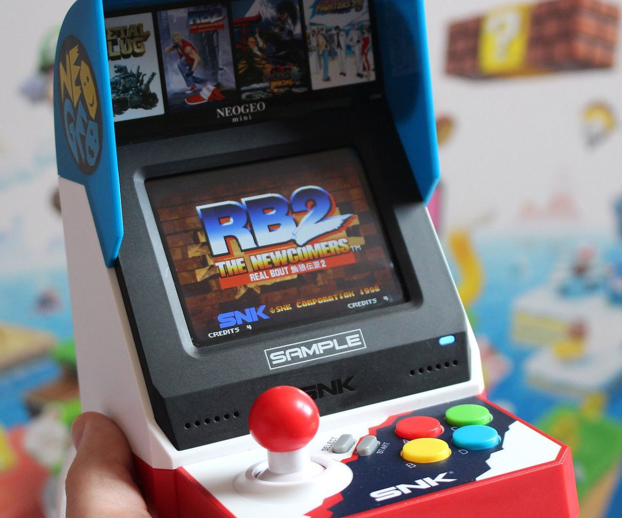 NeoGeo Mini Retro Arcade - coolthings.us
