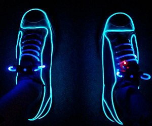 Neon Light Up Sneakers