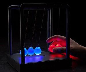 Kinetic Light Cradle
