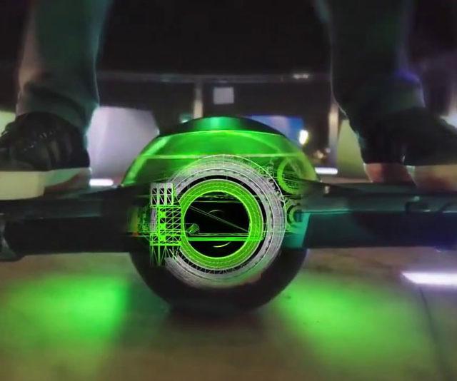 Self Balancing One Wheel Skateboard