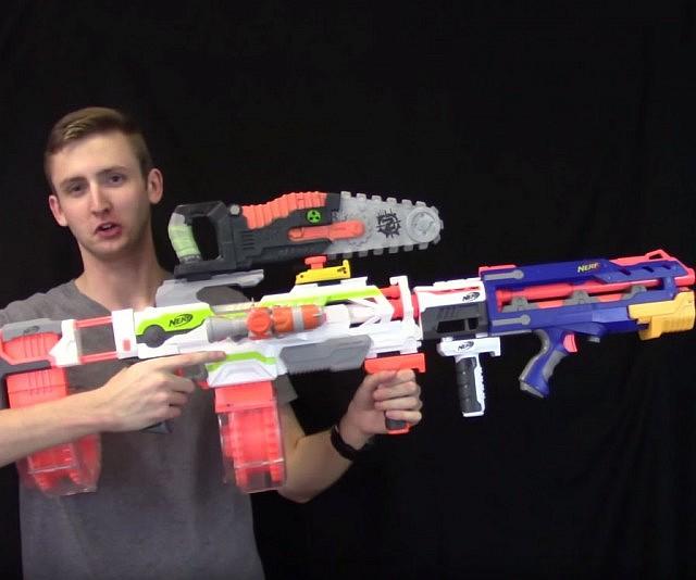 Machine Gun for Nerf Gun