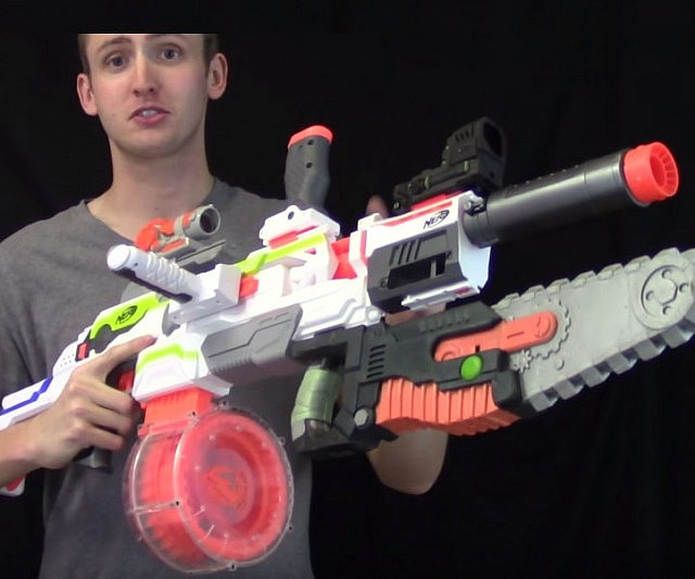 Introduction: Nerf Guns That Look Like Real Guns
