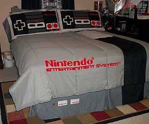 Great Nintendo Bed Set