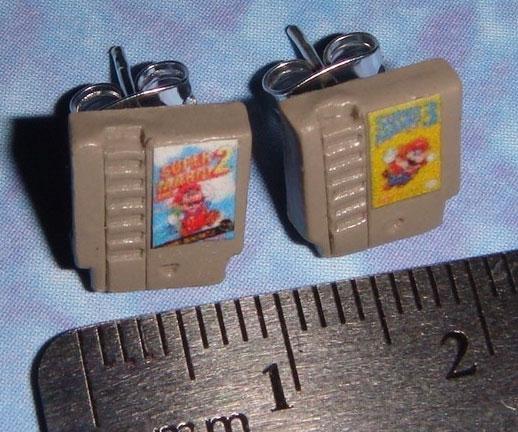Nintendo Cartridge Earings