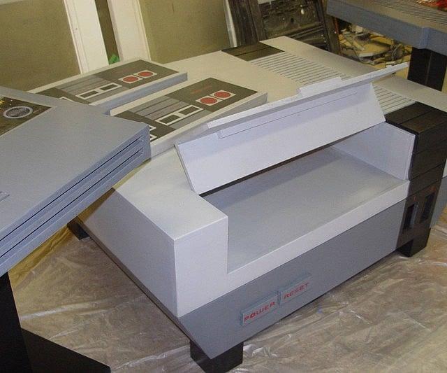 Vintage Nintendo Themed Furniture