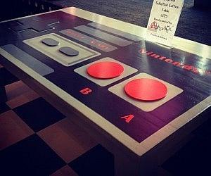 Lovely Nintendo Controller Coffee Table
