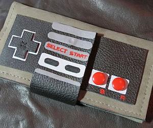 NES Controller Wallet