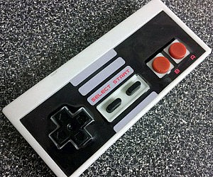 NES Controller Soap Bar