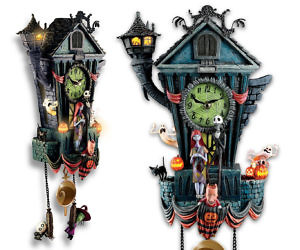 nightmare before christmas cuckoo clock bradford exchange1 300x250jpg