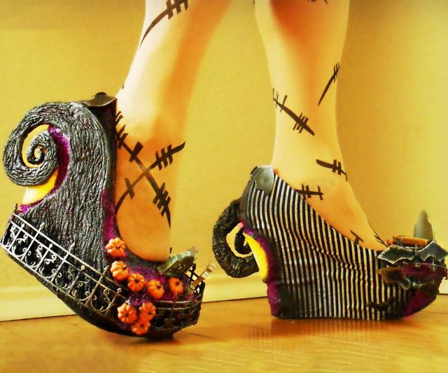 Nightmare Before Christmas Shoes Diy.Nightmare Before Christmas High Heels