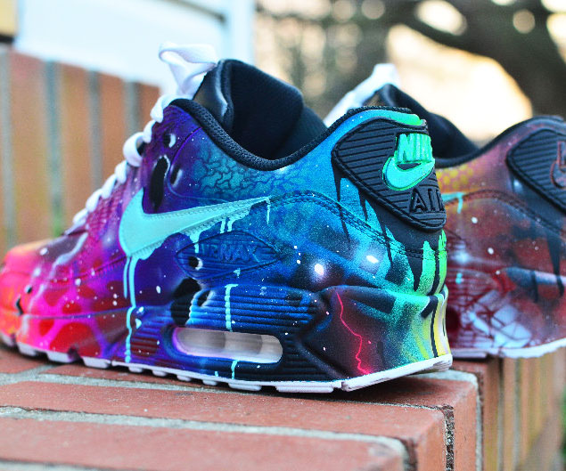 8995e24c0a83f Galactic Themed Nike Air Max 90