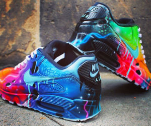 e6ef60f365db Galactic Themed Nike Air Max 90