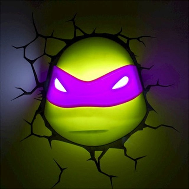 Ninja Turtles 3D Nightlight
