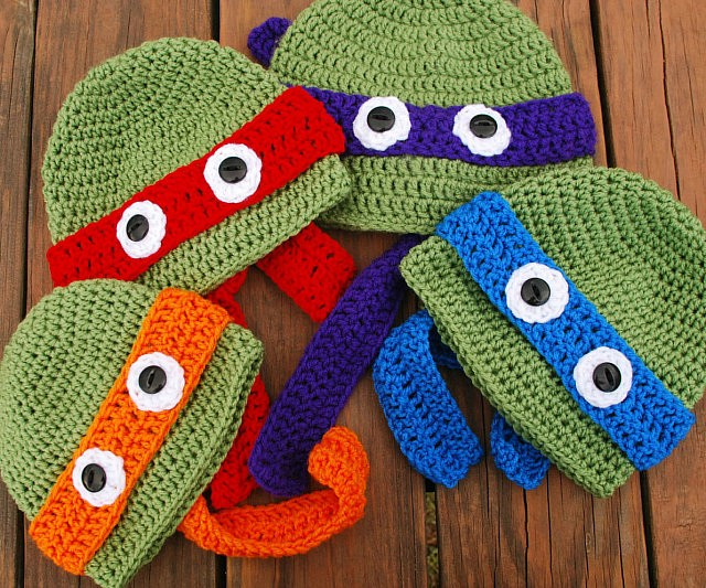 b0d138cc5d6 Teenage Mutant Ninja Turtle Beanies