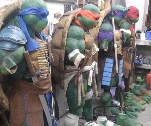 & Teenage Mutant Ninja Turtle Costumes