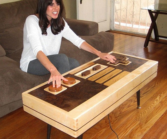 Delightful Controller Coffee Table Part - 3: Nintendo Controller Coffee Table