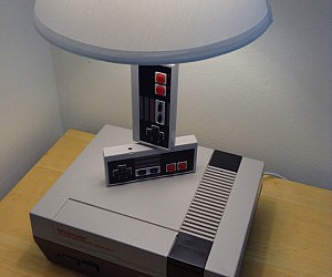 Nintendo Console Lamp