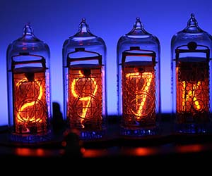 Nixie Tube Thermometer