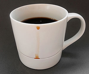 No Spill Coffee Mug