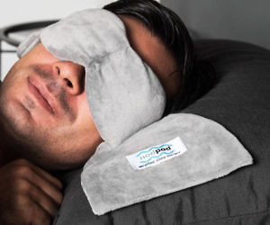 The Weighted Sleep Mask