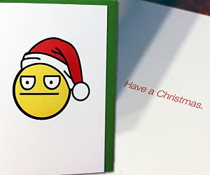 Non-Emotional Christmas Card