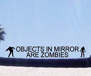 Objects In Mirror Are Zombies