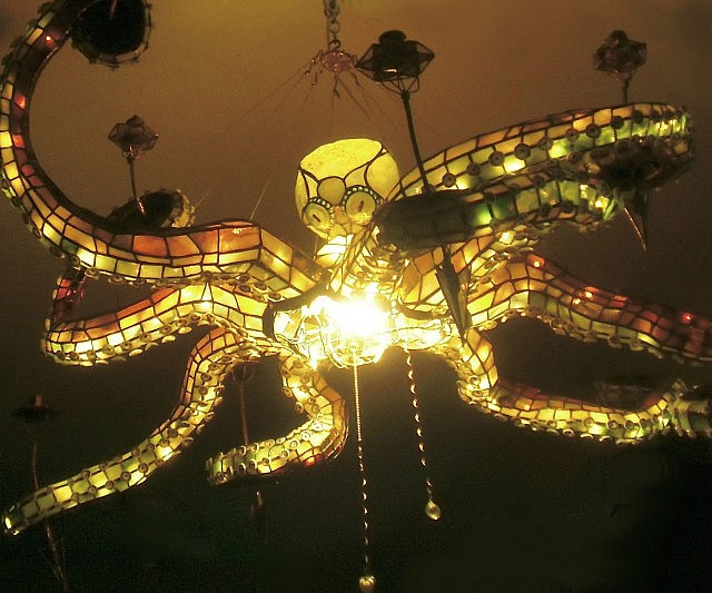Epic Octopus Chandelier