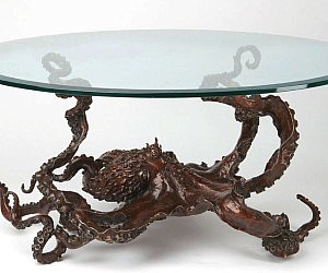 Bronze Octopus Coffee Table