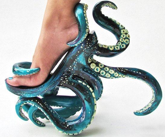 a8974d46c2f Octopus Tentacle Heels