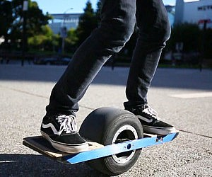 Self Balancing Electric Skateboard