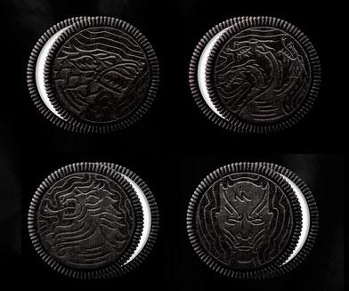 Game Of Thrones Oreo Cookies