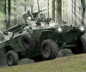 Otokar Armored Military Vehicle