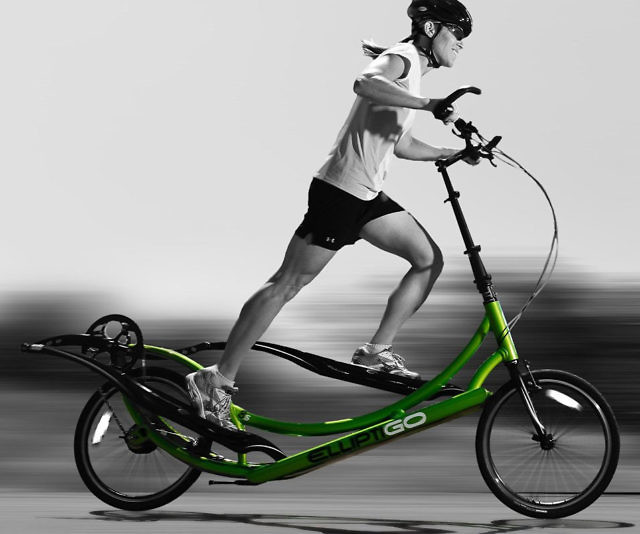 Elliptical Sit Down Bike: Outdoor Elliptical Bike