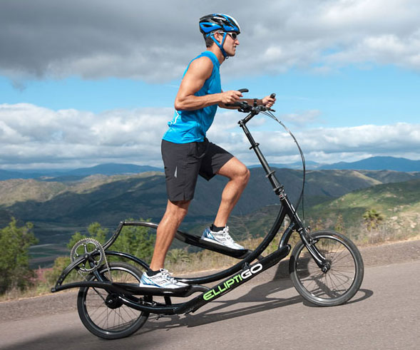 Elliptical Sit Down Bike: Outdoor Elliptical Exercise Bicycle