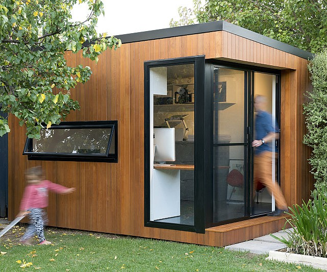 Superbe Prefabricated Backyard Office