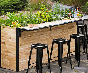 Epic Outdoor Planter Bar