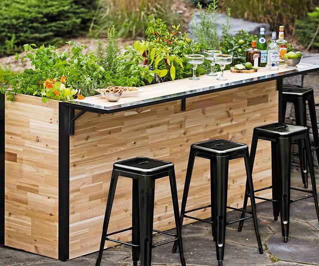 Outdoor Planter Outdoor planter bar workwithnaturefo