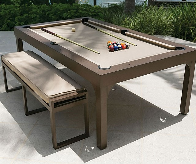 Outdoor Billiards Dining Table