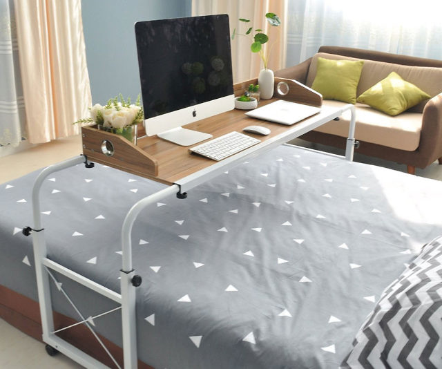 Over The Bed Rolling Table