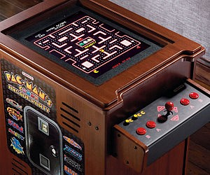 Pac-Man Arcade Cocktail Cabinet